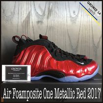 ★【NIKE】入手困難 ナイキ Air Foamposite Metallic Red 2017