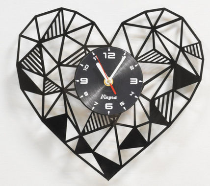 wall clock wall clock - heart # 60