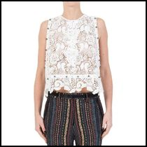 n21ヌメロ ヴェントゥーノMACRAME LACE TOP