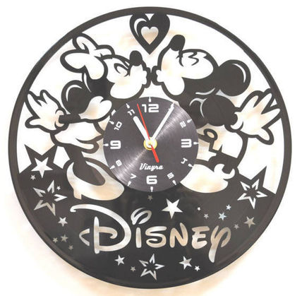 wall clock wall clock - Mickey & Minnie mouse # 70