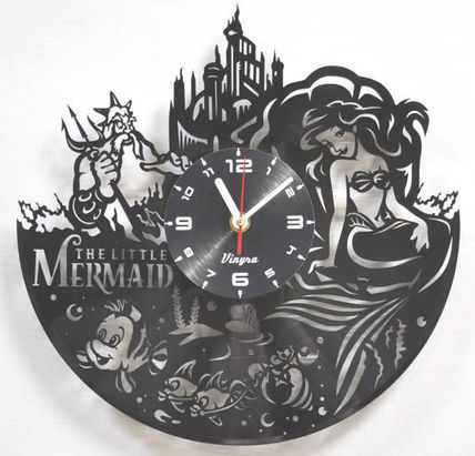 wall clock wall clock - Little Mermaid # 78