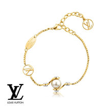 国内発関税込 2017SS Louis Vuitton Bracelet LV Speedy Pearls