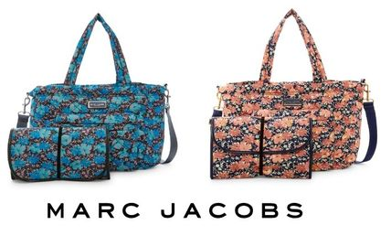 SALE!Marc Jacobs フラワープリント マザーズバッグ シート付★