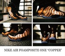 "【国内発送】NIKE AIR FOAMPOSITE ONE""COPPER""314996-007 希少"
