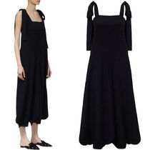 17SS C192 WIDE LEG JUMPSUIT WITH RIBBON TIE