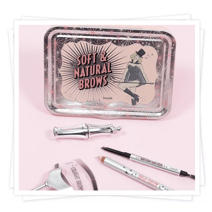 Soft & natural アイブロウキット(全3色)【追跡送料込】