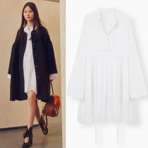 17SS C194 LOOK23 PINEAPPLE BRODERIE ANGLAISE SHIRT DRESS