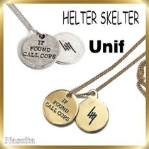 UNIF Clothing(ユニフ) ネックレス・チョーカー  【送料・関税込】★UNIF◆HELTER SKELTER◆ネックレス