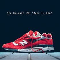 "New Balance 998 ""Made In USA"" レッド ホワイト!!"