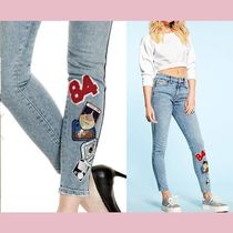 【GUESS】新作★パッチ付きスリムジーンズ1981 PATCH