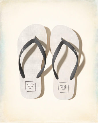 Hollister Rubber Icon Flip Flop