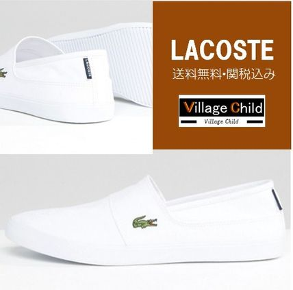 LACOSTE Marice Prime sole Slip-on white only