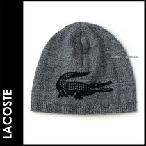 LACOSTE(ラコステ) ニットキャップ・ビーニー ★3-7日着/追跡&関税込【即日発送・LACOSTE】KNITTED CAP