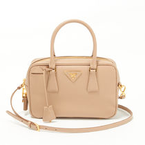 PRADA  SAFFIANO  LUX   2WAYハンドバッグ CAMMEO