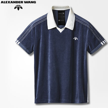 adidas Originals by Alexander Wang AW VELOUR POLOポロシャツ