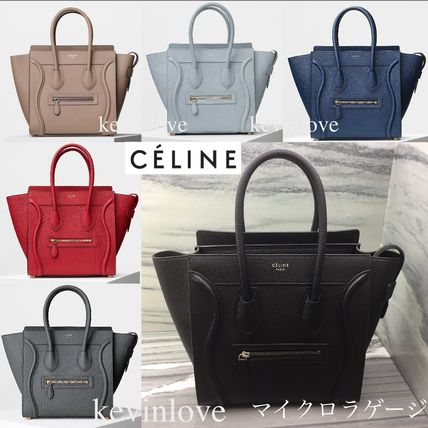 popular CELINE 2 Micro luggage multicolor.