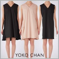 [すぐ届く]国内発☆YOKOCHAN Back Tiered Dress