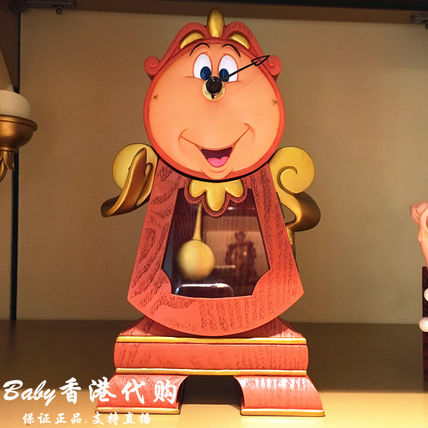 Hong Kong S.A.R. Disney beauty and the beast cogsworth watch