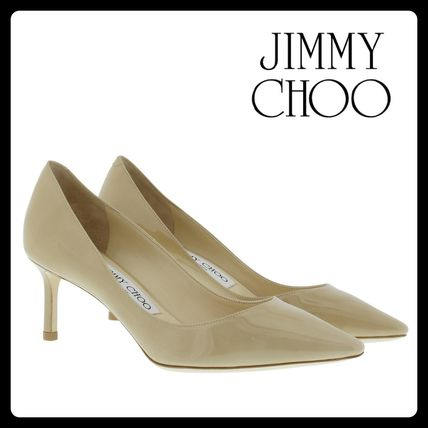 Jimmy Choo after all this Romy Kittenheel nude colours