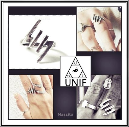 See UNIF Clothing open UNIF logo ring