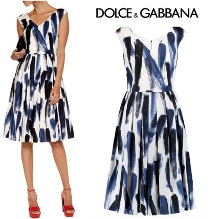 Dolce & Gabbana SALE * print MIDI dress