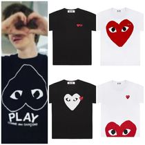 COMME des GARCONS(コムデギャルソン) Tシャツ・カットソー 国内発送 COMME des GARCONS Play プレイハートロゴ Tシャツ
