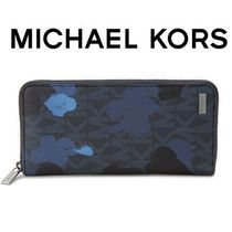 ☆Michael Kors☆ Jet Set Painterly Camo 長財布 MIDNIGHT♪