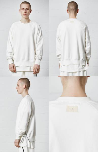 17SS新作国内即発送FOG FEAR OF GOD Crew Neck Sweatshirtewhite