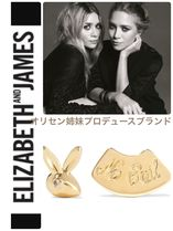 """Elizzabeth and James""厄除け ラビットピアス"
