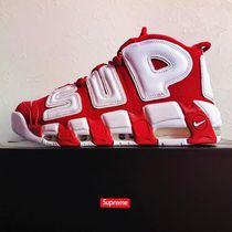 "17ss SUPREME X NIKE AIR MORE UPTEMPO  red ""Suptempo"""