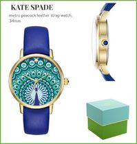 【Kate Spade】クジャク柄!peacock metro watch★ 送料関税込