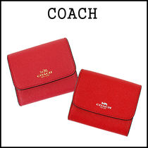 【即発★3-5日着】COACH★Crossgrain Card Case★F54843★