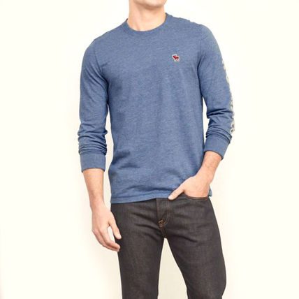 Abercrombie & Fitch スウェット・トレーナー APPLIQUE GRAPHIC LONG SLEEVE TEEがかっこいい!(5)