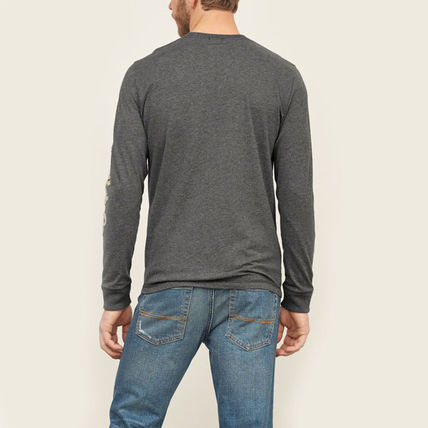 Abercrombie & Fitch スウェット・トレーナー APPLIQUE GRAPHIC LONG SLEEVE TEEがかっこいい!(3)