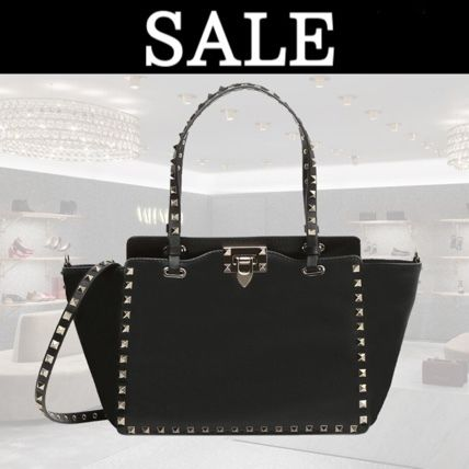 17th SS VALENTINO rock studded small tote NW1B0037BOL
