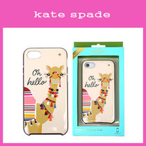 【即発3-5日到着】kate spade◆Jeweled Camel◆iphone 7 ケース
