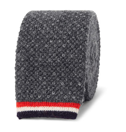Super cool THOM BROWNE cashmere tie