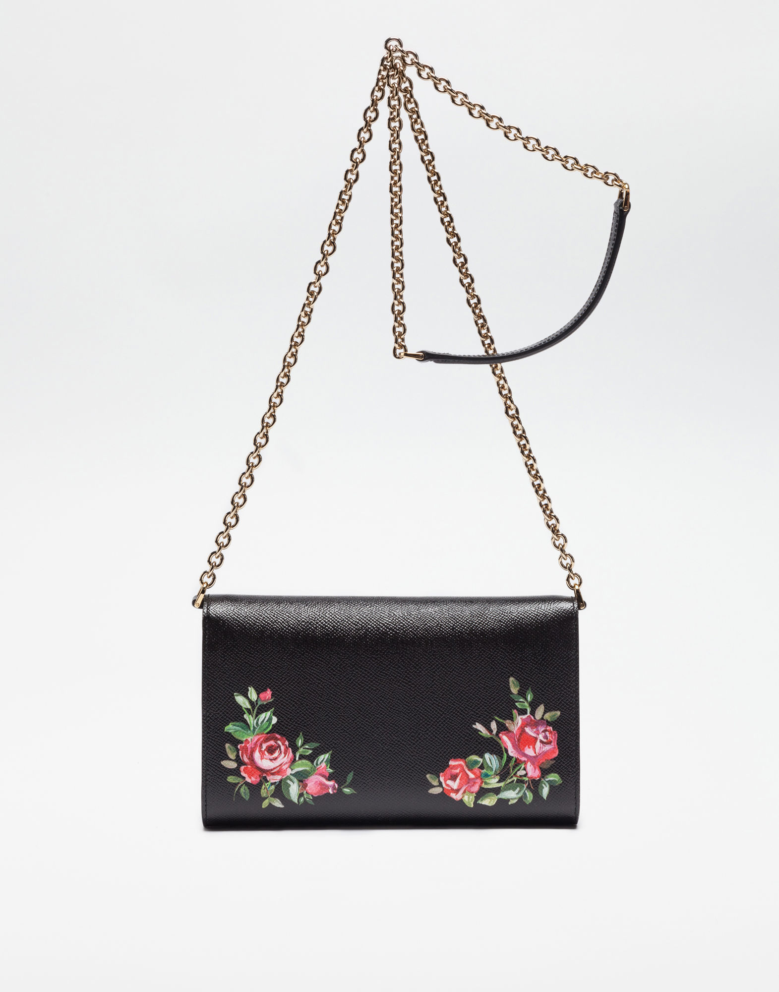 D&G☆DOLCE ポーチ DAUPHINEプリントレザー☆クラッチバッグ