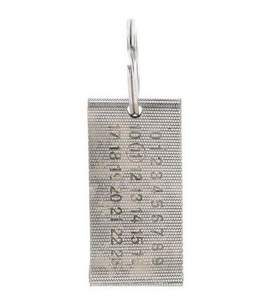 Number tag key ring into immediate MaisonMargiela (11)