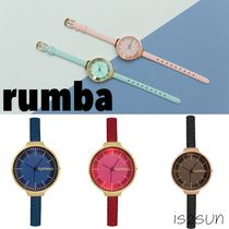 RumbaTime(ルンバタイム) アナログ腕時計 ★海外限定★RumbaTime(ルンバタイム)/ ORCHARD LEATHER 5色展開