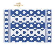 【HERMES】ギフトBOX付★ビーチタオル★Yachting Dots