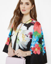 TED BAKER(テッドベイカー ) ポンチョ・ケープ 最終セール★【TED BAKER】GISEL Forget Me Not cape<送料込>