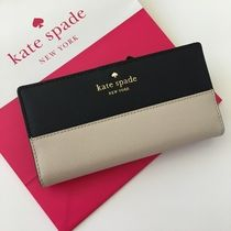 【kate spade】特別入荷・即発☆stacy カード用二つ折り長財布☆