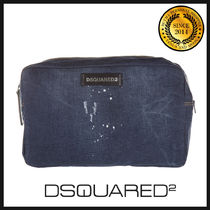 DSQUARED2 ディースクエアード donald ポーチ W16BY4004533