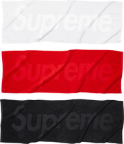 Supreme Terry Logo Hand Towel タオル 白 White