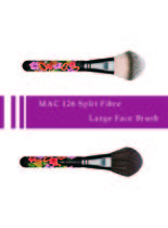 MAC 126 Split Fibre Large フェイスブラシ Fruity Juicy 限定品