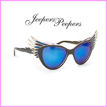 Jeepers Peepers(ジーパーズ ピーパーズ) サングラス 関送込☆Jeepers Peepers☆フェザーフレームブルーサングラス♪