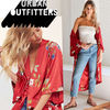 ● Urban Outfitters ● Isabel KIMONO 花柄ガウン カーディガン