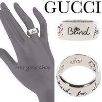VIP価格★GUCCI★Blind For Loveシルバーリング
