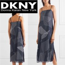 新作!★DKNY★(ディーケーエヌワイ)embroidered camisole dress